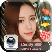 Candy Selfie Camera app icon