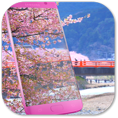 Pink Sakura Live Wallpaper icon