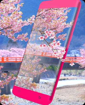 Pink Sakura Live Wallpaper screenshot 3