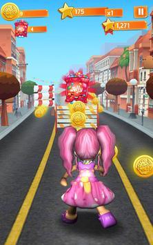 Subway Pink Shopkins Run poster