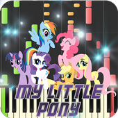Piano My Little Pony Games Tiles icon