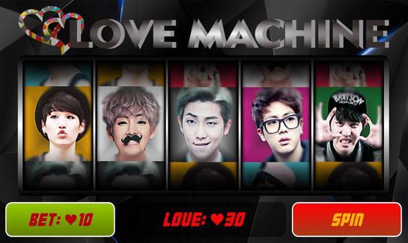BTS Love Machine poster