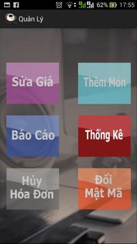 MenuGoiMon Nhahang Cafe apk screenshot