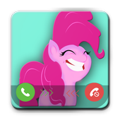 Pinkie Pie Fake Call - Prank icon