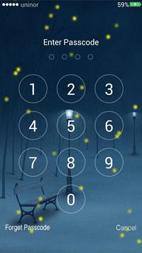 Firefly Lockscreen apk screenshot