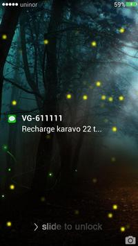 Firefly Lockscreen apk screenshot