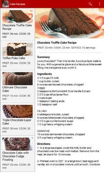 Cake Recipes apk screenshot
