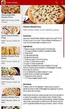 Chicken Recipes apk screenshot