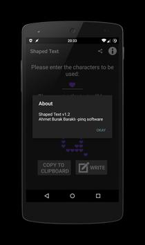 Shaped Text screenshot 4