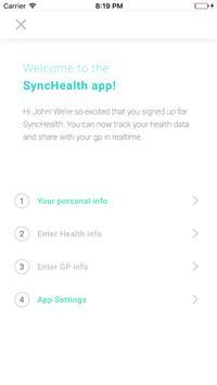 SyncHealth screenshot 4