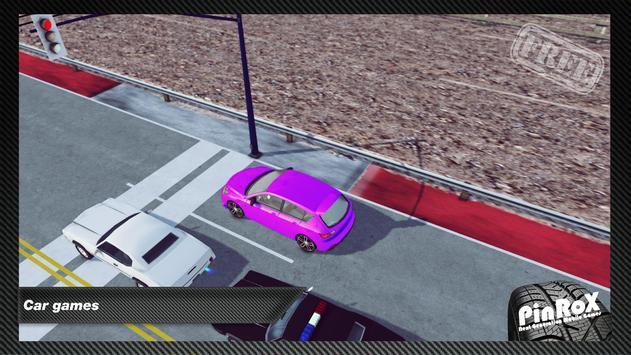 3D GTE Hatchback Sports Car poster