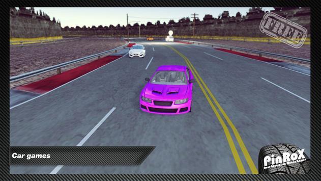 3D Road Racing Car Free screenshot 3