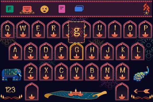 Diwali Keyboard poster