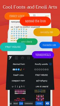 FancyKey Keyboard - Cool Fonts, Emoji, GIF,Sticker screenshot 1