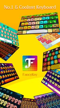 FancyKey Keyboard - Cool Fonts, Emoji, GIF,Sticker screenshot 2