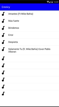 Greeicy Songs Musica screenshot 2