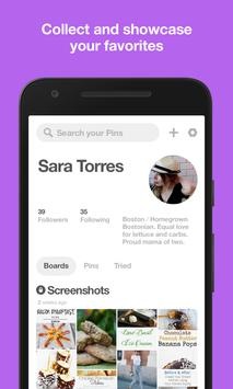Pinterest: Inspiration & Creative Lifestyle Ideas apk screenshot