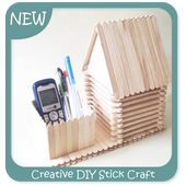 Creative DIY Stick Craft icon