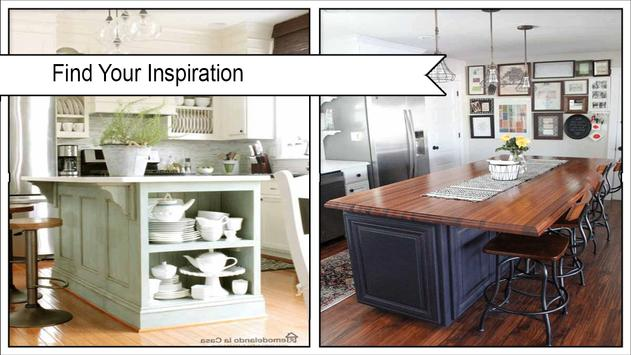 Modern DIY Kitchen Islands poster