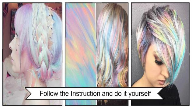 Pretty Holographic Hair Trends screenshot 2