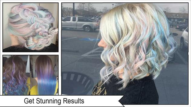 Pretty Holographic Hair Trends screenshot 3