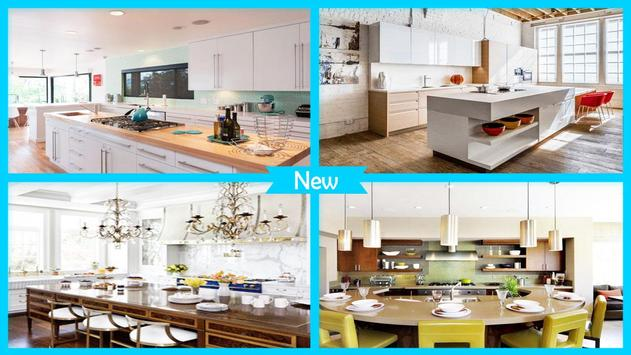 Stylish Kitchen Countertop Designs poster