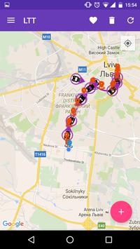 Lviv Transport Tracker screenshot 2
