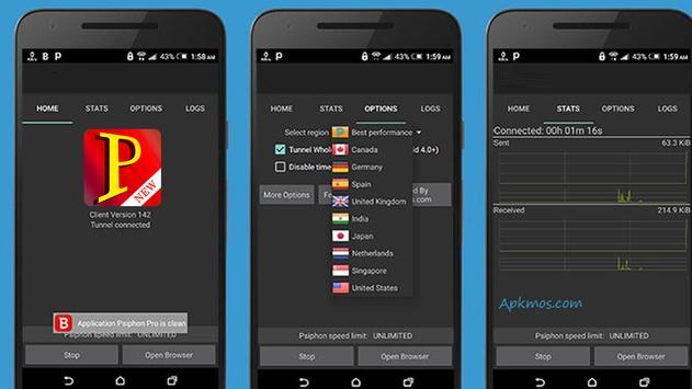 New Psiphone 2017 Guide Free apk screenshot