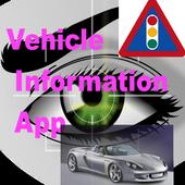 Vehicle Information App icon