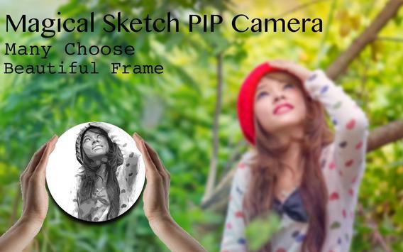 Magical Sketch PIP Camera Effect screenshot 3