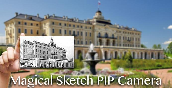 Magical Sketch PIP Camera Effect poster