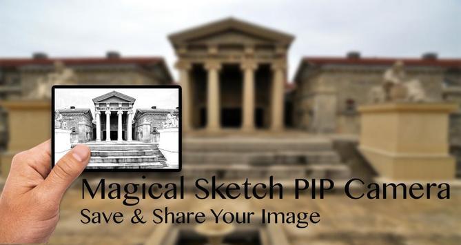 Magical Sketch PIP Camera Effect screenshot 2