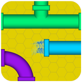 Pipe game pipe twister puzzle icon