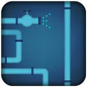 Pipe puzzle twist pipes game icon