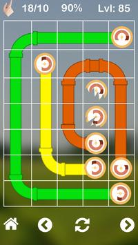 Plumbing game Pipes puzzle and twister apk screenshot