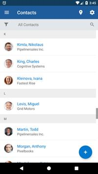 Pipeliner CRM Universals apk screenshot