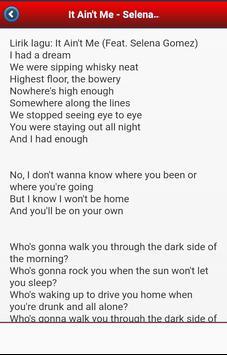 Lirik Lagu Joox Barat apk screenshot