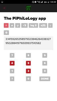 PiPhiLoLogy App - Memorize digits of pi, e poster