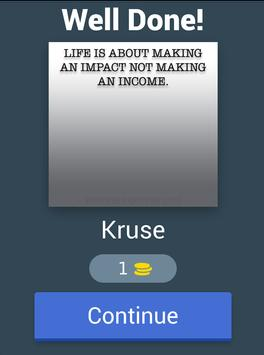 Business Quotes Quiz apk screenshot