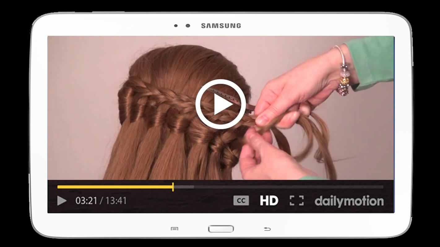 girls hairstyle videos step by step tutorials 2018 for android - apk