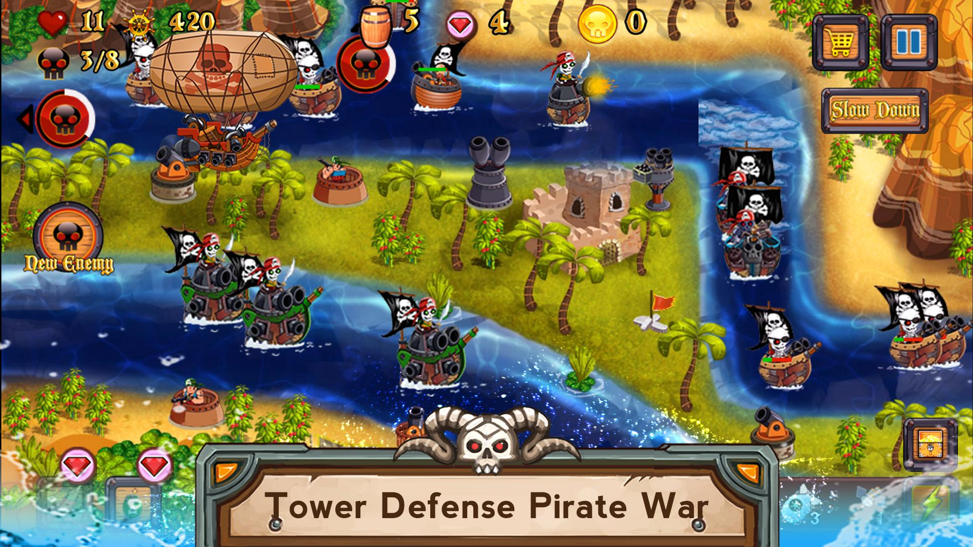 Tower Defense Pirates TD for Android - APK Download