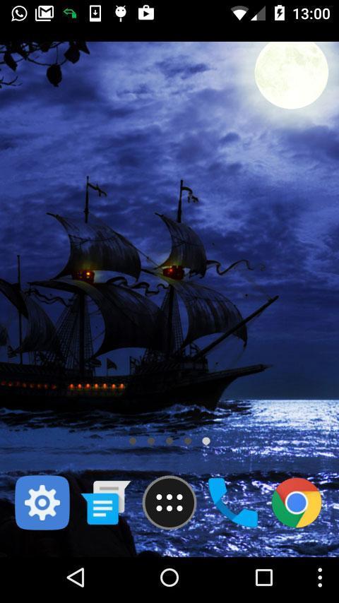 pirate ship wallpaper poster