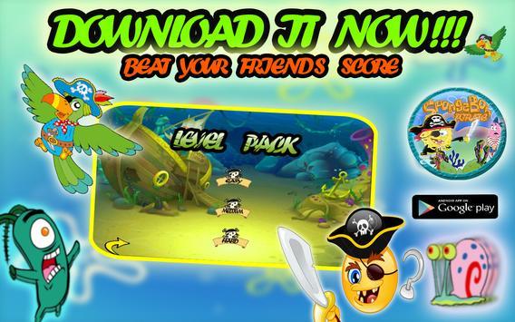 Pirate Spongebob Advv screenshot 10