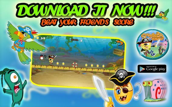 Pirate Spongebob Advv screenshot 11