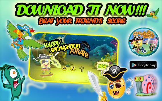 Pirate Spongebob Advv screenshot 9
