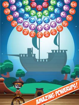 Stickman Pirates: Bubble Shooting Adventure poster