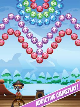 Stickman Pirates: Bubble Shooting Adventure screenshot 1