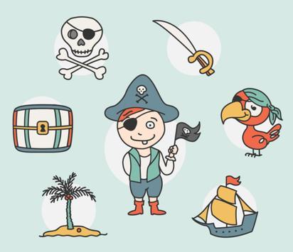 Pirate Game for Kids screenshot 1