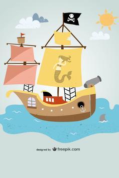 Pirate Game for Kids screenshot 2
