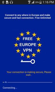 Europe Vpn Free poster